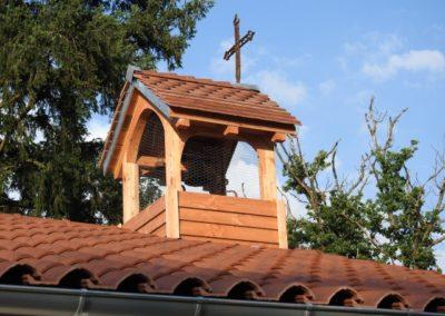 Création d'un clocher