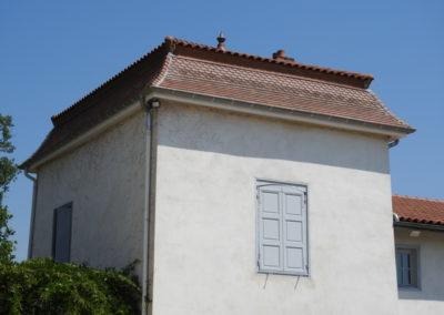 Rénovation toiture 18 ème siècle
