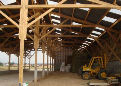 AMC Charpente Loire bâtiment agricole