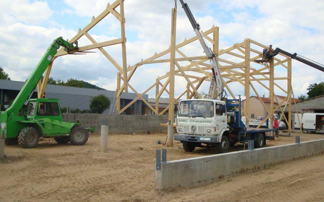Construction d'un bâtiment agricole