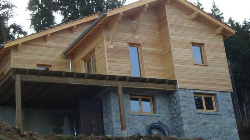 Ossature bois: idéale pour la construction d'un chalet