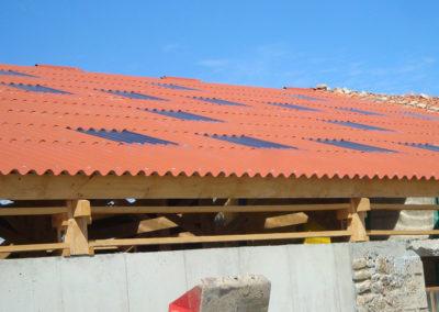 AMC Charpente Loire Stabulation toiture
