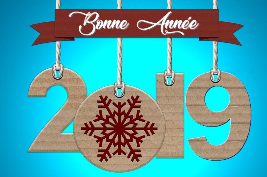 AMC Charpente vous souhaite une belle année 2019