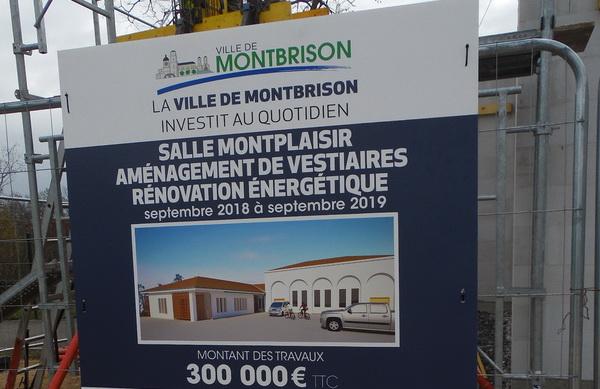 AMC : 3 nouveaux vestiaires pour le stade de Montplaisir